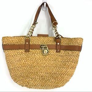Malibu Large Straw Tote Bag